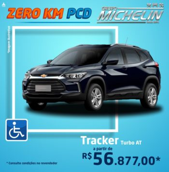 Chevrolet Tracker Turbo AT – 2021