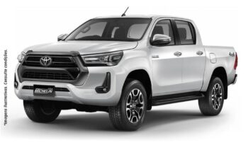 NOVA Toyota Hilux SRV Cabine Dupla AT